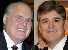 Rush Limbaugh, Sean Hannity Radio Shows Dropped from 40 Cumulus Channels